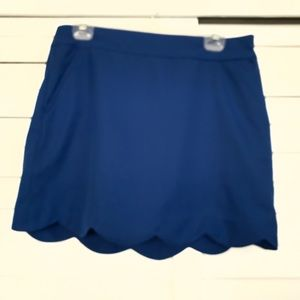 Vineyard Vines tennis skirt scallop edge